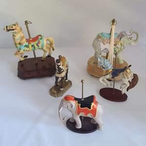 Lot # 82 Carousel Horses