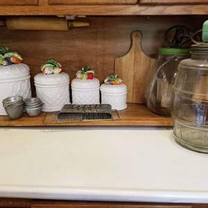Lot # 157 Kitchen Containers, Jugs, & More