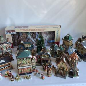 Lot # 208 Christmas Village