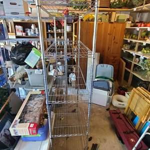 Lot # 211Wire Storage Rack