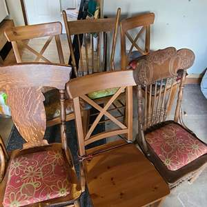 Lot # 220 Antique Chairs