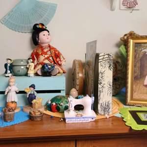 Lot # 239 Asian Dolls & More