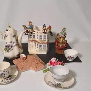 Lot # 244 Trinkets & Tea