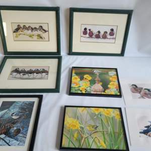 Lot # 42 Assorted Art