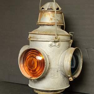 Lot # 3 Railroad Lantern