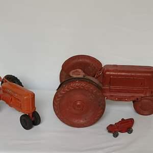 Lot # 94 Vintage Toy Tractors