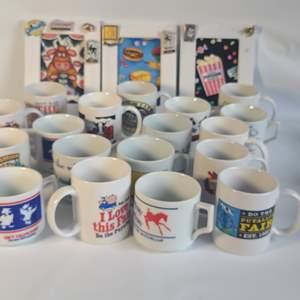 Lot # 84 Fair Mugs & Frames