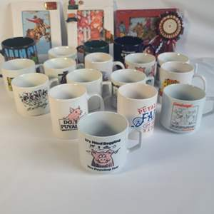 Lot # 85 Fair Mugs