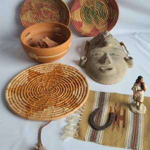 Lot # 89 Native American Artifacts