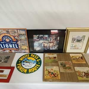 Lot # 120 Assorted Prints, Photos, & Decor