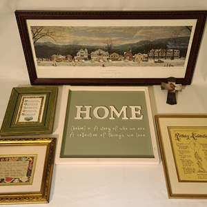 Lot # 139 Norman Rockwell & Religious Prints