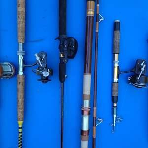 Lot # 224 Fishing Pole Lot