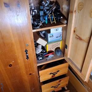 Lot # 226 Take The Bait. Reels & Gear