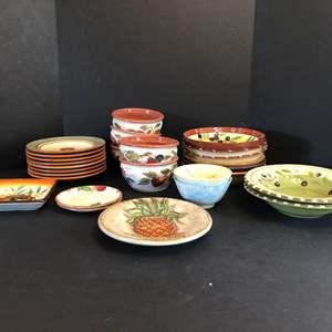 Lot # 54 - Misc. Plates & Bowls