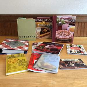 Lot # 87 - Small Collection of Cook Books