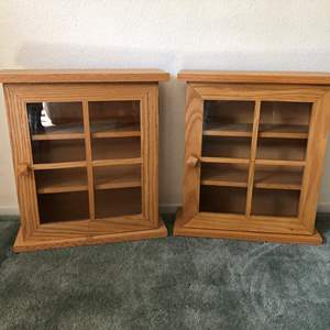 Lot # 181 - 2 Display Cases