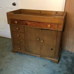 Lot # 180 - Cute Wood Baby Changing Station