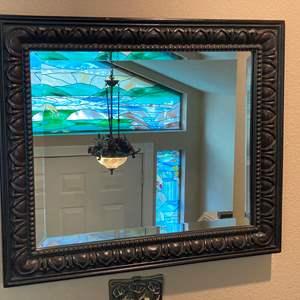 Lot # 12 - Carlisle Beveled Glass Mirror