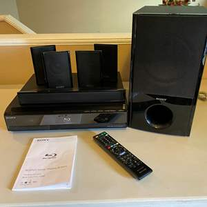 Lot # 30 - Sony BDV-T11 Blu-Ray Home Theater System