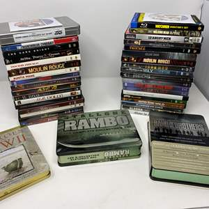 Lot # 31 - DVD Collection - See Pictures for Titles