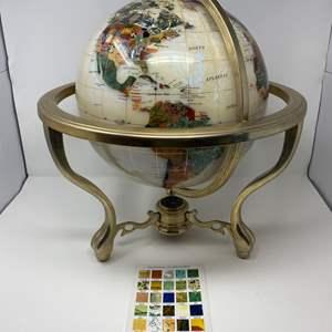 The World's Finest Gemstone Globe by Alexander Kalifano