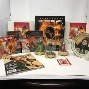 """Lot # 145 - Awesome Collection of """"Gone with the Wind"""" Items - (See Pictures)"""