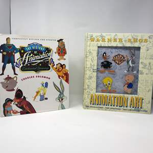 Lot # 158 - The History of Animations Book & Warner Bros. Animation Art Book