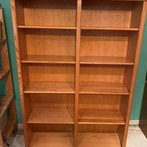 Lot # 209 - Double Sided Bookshelf