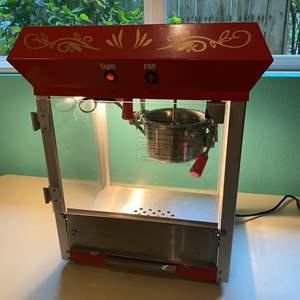 Lot # 211 - Elite Popcorn Machine - (Model # - EPM-450)
