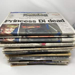Lot # 216 - Collection of Vintage Newspapers