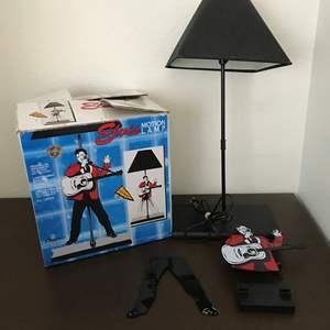 Lot # 268 - Vintage Elvis Lamp w/ Original Box