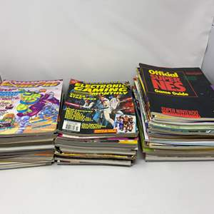 Lot # 231 - Awesome Collection of Vintage Gaming Magazines & Strategy Guides - (See Pictures)