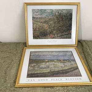 Lot # 280 - Monet & Van Gogh Prints