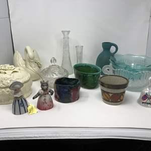 Lot # 288 - Mix & Match Lot: Bells, Pottery, Bowls & More