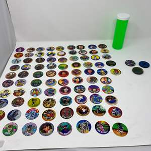 Lot # 238 - Vintage Collection of POGs & Slammers
