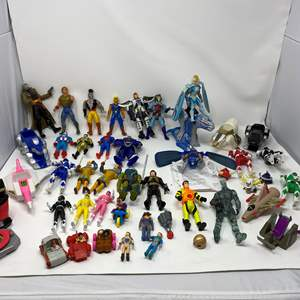Lot # 247 - Collection of Vintage Action Figures