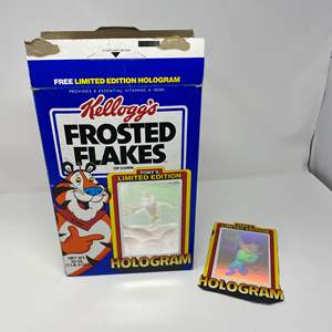 Lot # 249 - Vintage Limited Edition Kellogg's Frosted Flakes Hologram Box