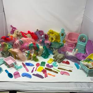 Lot # 250 - Collection of My Little Pony's & Accessories.
