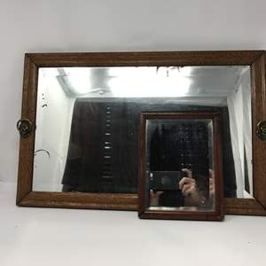 Lot # 197 - 2 VTG Mirrors