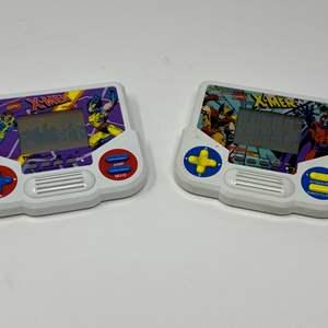 "Lot # 298 - Two Vintage ""Tiger"" Electronic Handheld X-Men Games"