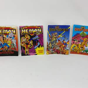Lot # 303 - Vintage He-Man & Dino Riders Mini Comics