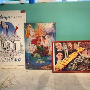 Lot # 325 - Three Vintage Movie Posters