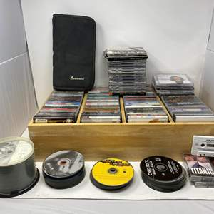 Lot # 342 - Awesome Collection of Vintage 90's Rap, R&B, Rock, & More - (See Pictures for Titles)