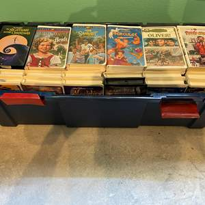 Lot # 343 - Amazing Collection of Disney VHS Tapes & Other Kids Classics