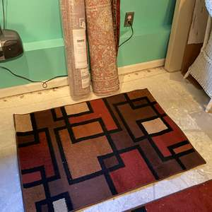 Lot # 385 - One New Rug Runner & Two Other Rugs - (See Pictures for Sizes)