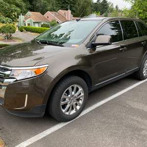 Lot # 2 - Fully Loaded 2011 Ford Edge w/ Only 62,000 Miles - (See Video & Pictures)