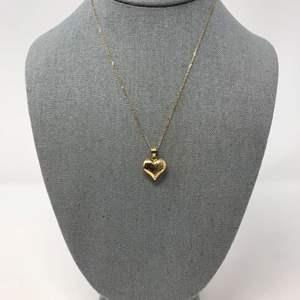 Lot # 100 - 14k Gold Necklace & Pendant - 2.56 Grams