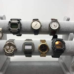 Lot # 103 - 8 Watches: Field & Stream, 2-14, La Cross, Seiko & More..