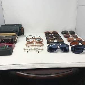 Lot # 108 - Men's & Women's Glasses, Sun Glasses & Cases