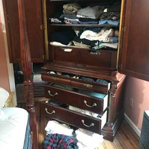 Lot # 116 - Dresser Full of T-Shirts, Sweatshirts, Shorts & More..